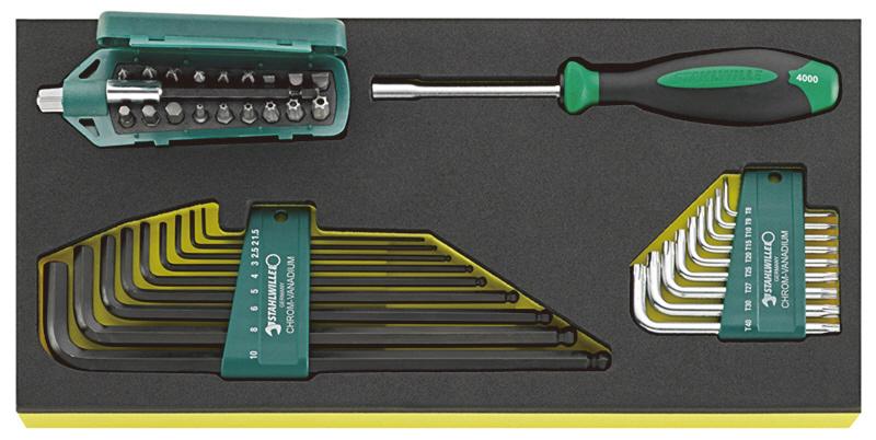 STAHLWILLE スタビレー セット工具 六角レンチ (96838768)