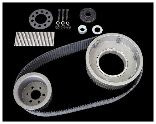 Neofactory ネオファクトリー Belt Drives Limited(ベルトドライブリミテッド) 3インチ オープンベルトキット キックスタート仕様4速ビッグツイン(55-84初期)