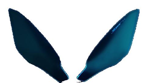 Dimotiv ディモーティヴ ヘッドライトプロテクターライト (Headlight Protector-Lite) ニンジャ1000 (Z1000SX)