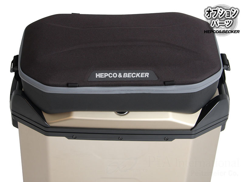 HEPCO&BECKER ヘプコ&ベッカー Xceed/エクシード用オプション トップバック Xceed(エクシード)用オプション