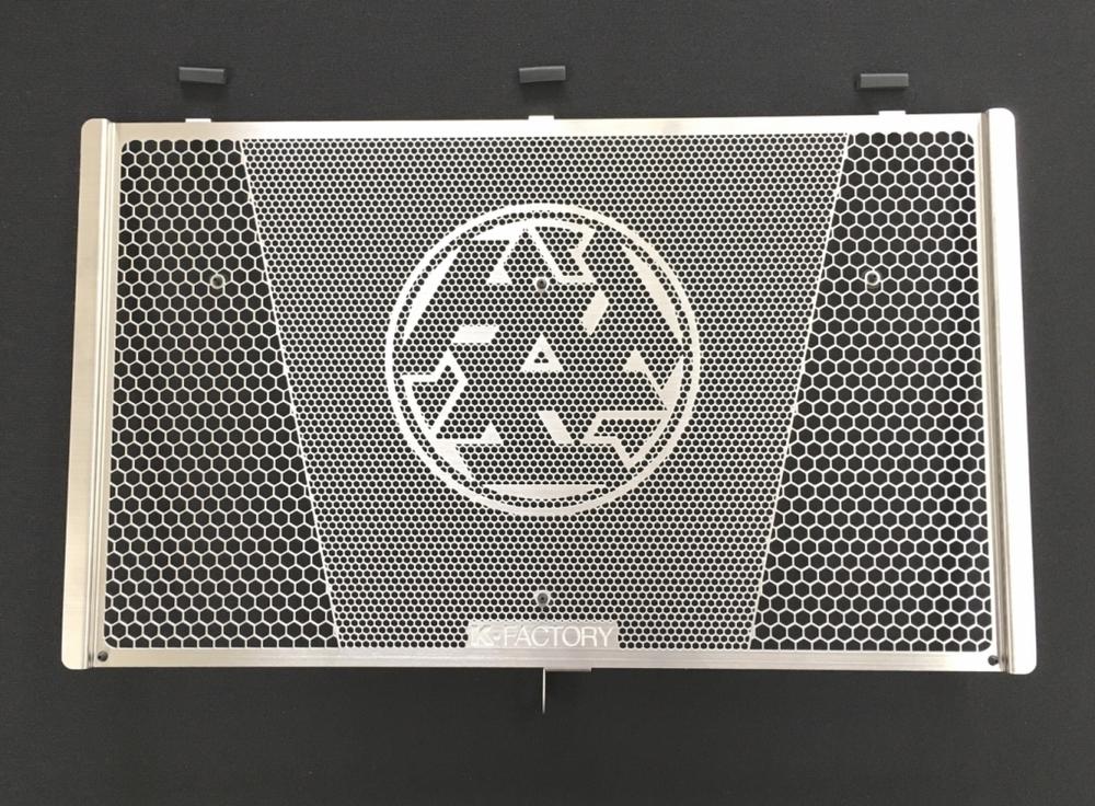 K-FACTORY Kファクトリー ケイファクトリー ラジエターコアガード 仕様:Cタイプ(ロゴマーク入り) Z900RS