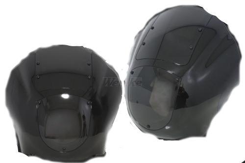 ガレージT&F ビキニカウル・バイザー フェアリングカウルKIT カラー:スモークスクリーン スティード400 スティード400 VSE