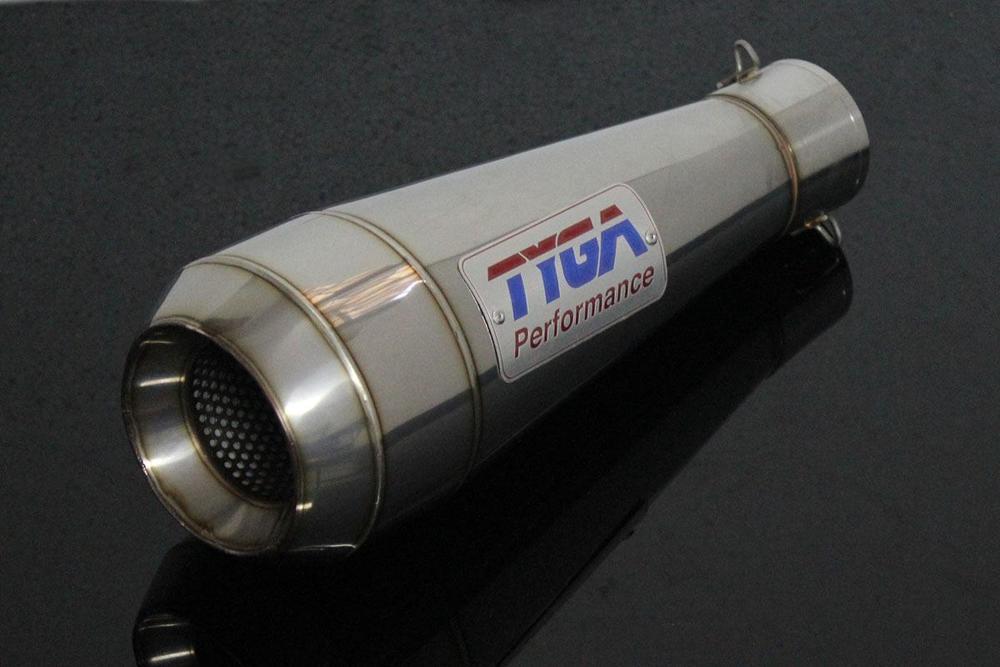 TYGA PERFORMANCE タイガパフォーマンス バッフル・消音装置 サイレンサー ステンレス MOTO MAGGOT