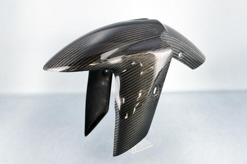 【在庫あり】【イベント開催中!】 A-TECH エーテック Aテック フロントフェンダー SPL 素材:平織ドライカーボン(C) ニンジャ250