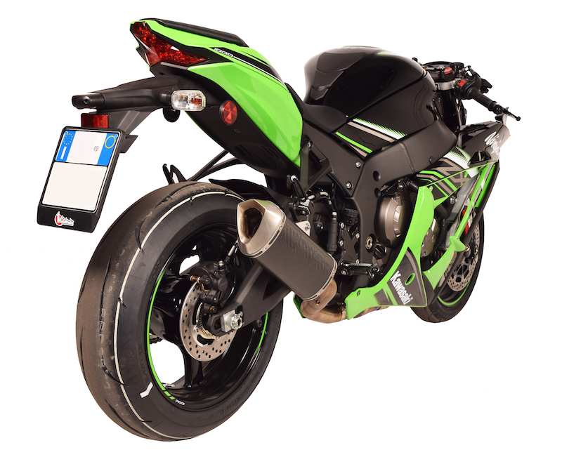 SPARK EXHAUST スパーク マフラー スリップオンマフラー Force 3/4 SYSTEM ZX 10 R (16-17)