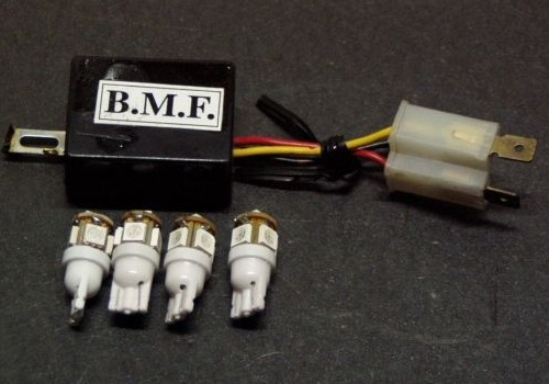 ビームーンファクトリー B-MOON FACTORY BMF その他電装パーツ LEDバルブ/デジタルリレーセット N-MAX