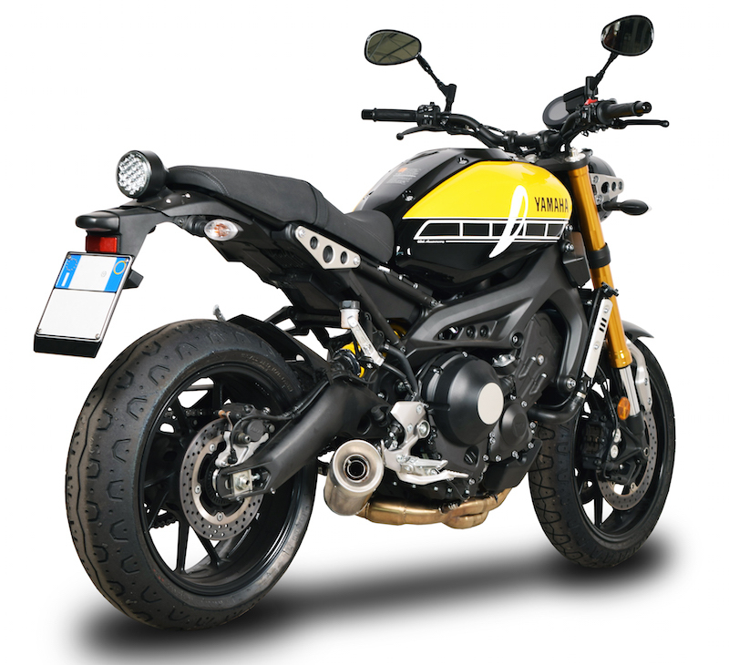 SPARK EXHAUST スパーク マフラー バッフル・消音装置 サイレンサー (スペアパーツ)【Silencer (spare part)】 MT 09 (13-18) XSR 900 (16-18) HERITAGE COLLECTION