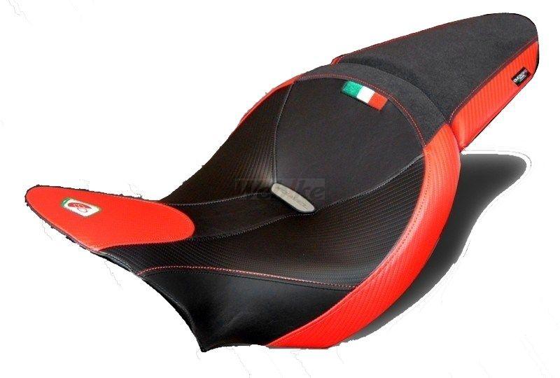 【イベント開催中!】 DUCABIKE ドゥカバイク その他シートパーツ 純正シート用カバー カラー:ブラック/レッド XDIAVEL