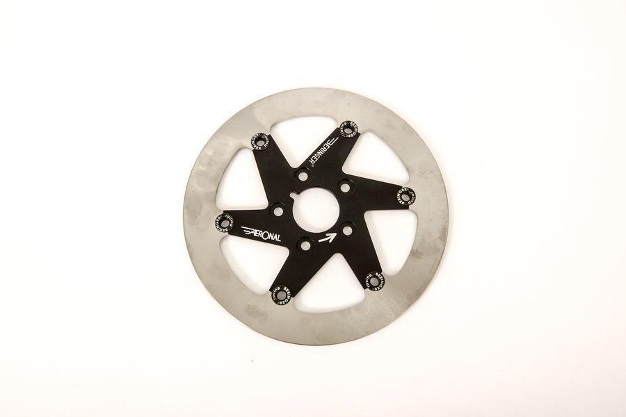BERINGER ベルリンガー ディスクローター AERONAL DISC (エアロナルディスク) ステンレスローター カラー:ブラック CRF250R(04-14) CRF450R(04-14)