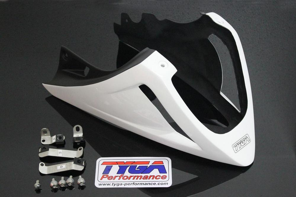 TYGA PERFORMANCE タイガパフォーマンス アンダーカウルベリー エキゾーストタイプ COLOR:White グロム