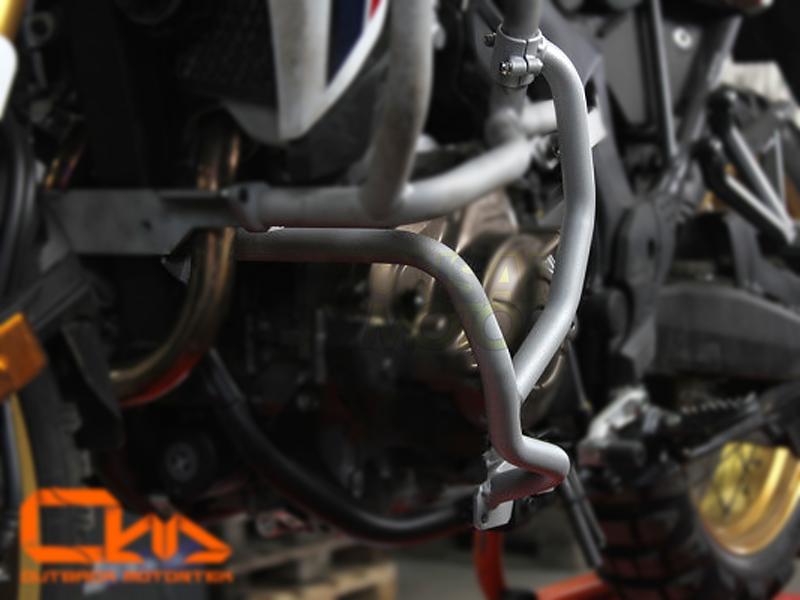 BONSAI MOTO ボンサイモト ガード・スライダー エンジンケースガード OUTBACKmotortek カラー:マットブラック タイプ:MT Africa Twin(16-17)