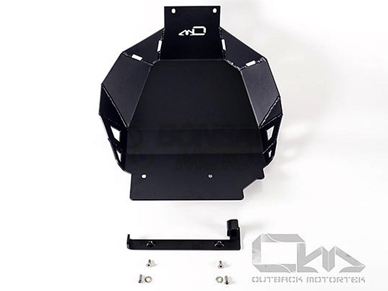 BONSAI MOTO ボンサイモト ガード・スライダー スキッドプレート OUTBACKmotortek カラー:マットブラック Africa Twin(16-17)