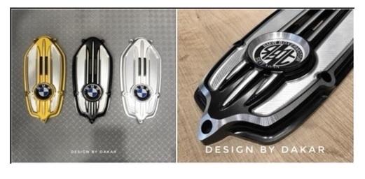 DK design ディーケーデザイン 汎用外装部品・ドレスアップパーツ Generator Cover (Second generation) Color:Golden RnineT