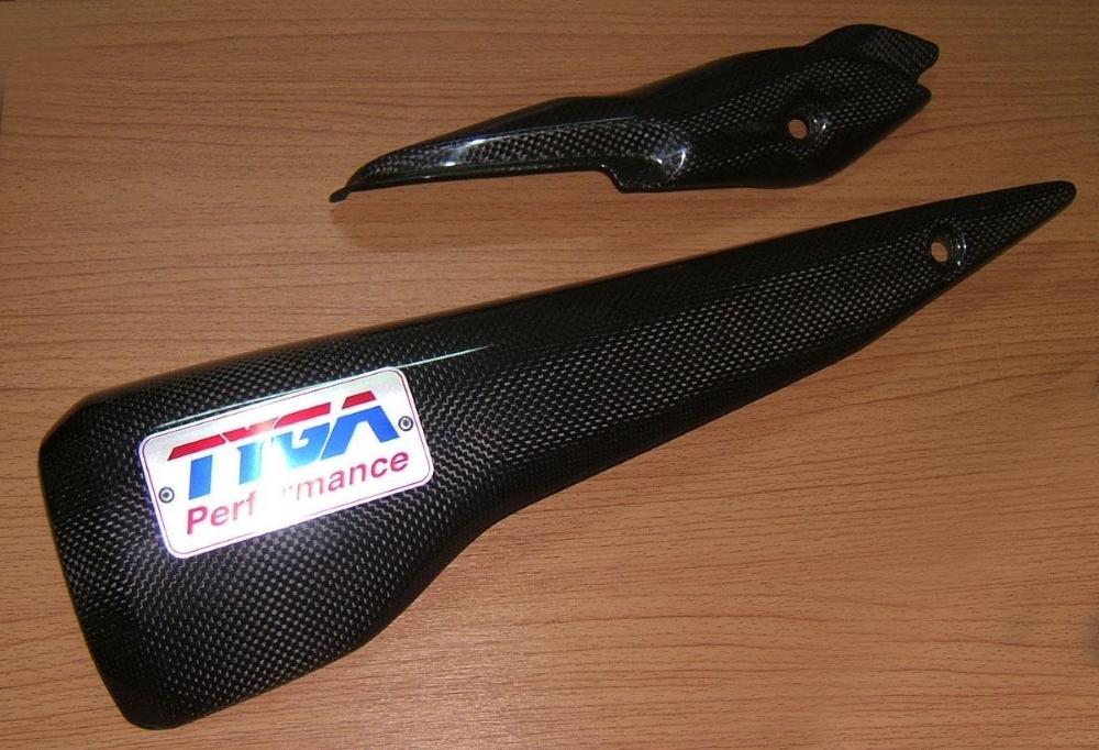 TYGA PERFORMANCE タイガパフォーマンス その他マフラーパーツ セット エキゾーストガード TYPE:With Tyga Logo CBR250R、2011-2013