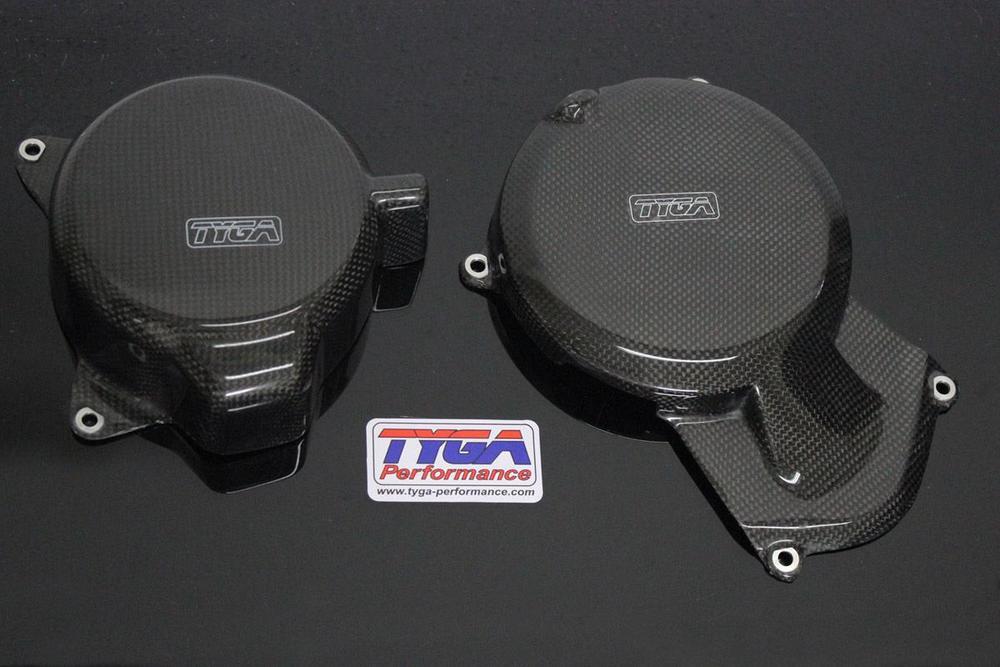 TYGA PERFORMANCE タイガパフォーマンス エンジンカバー ペア 390 Duke、RC390、2014-2015