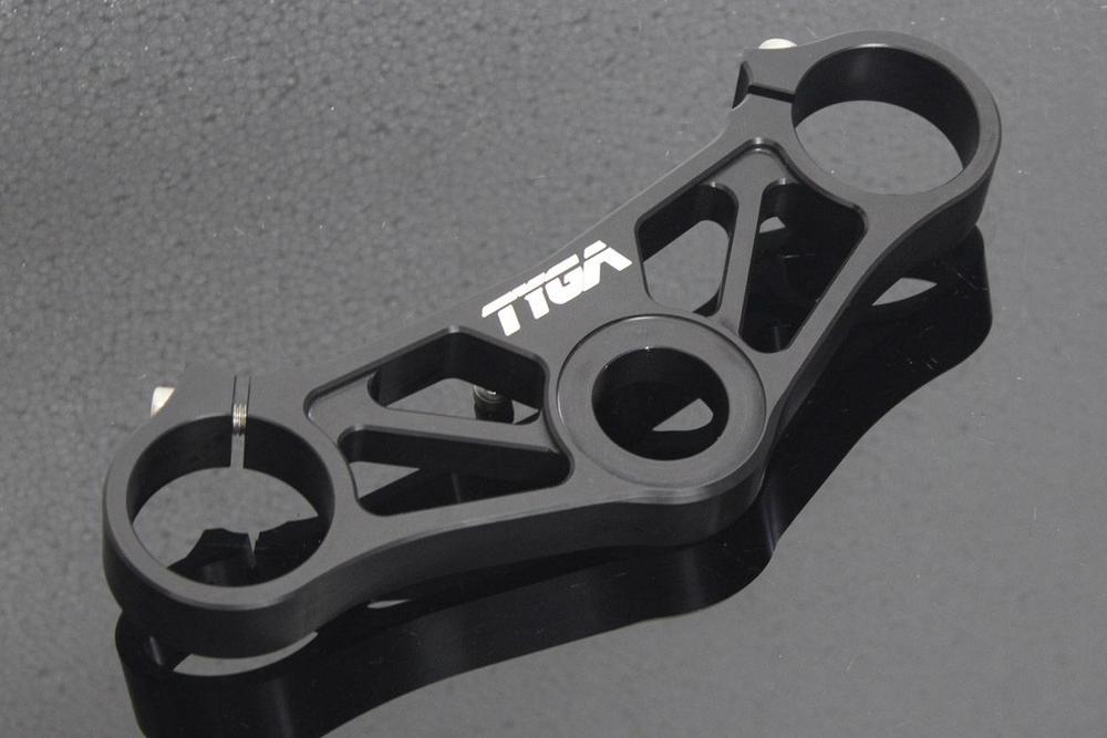 送料無料 ハンドル周辺パーツ VFR400R TYGA 激安通販販売 PERFORMANCE タイガパフォーマンス TYLY-1744 至高 p CNC トップトリプルクランプ