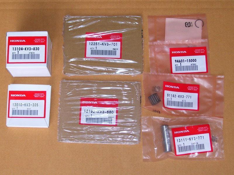 TYGA PERFORMANCE タイガパフォーマンス トップエンドリビルドキットシリンダー Cアッシー NSR250R NSR250SP