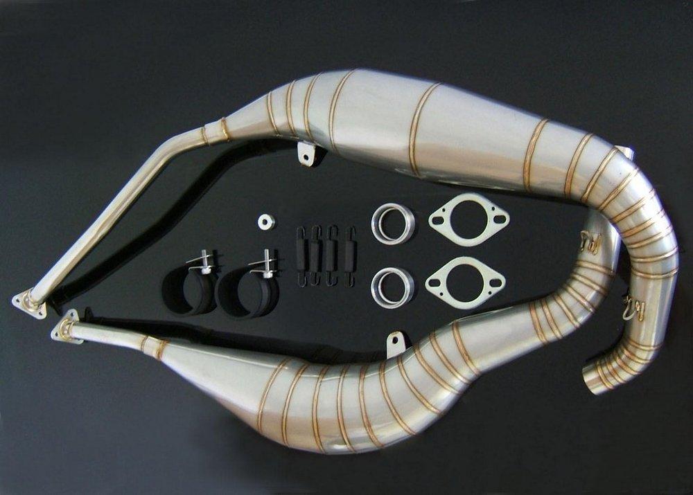 TYGA PERFORMANCE タイガパフォーマンス エキゾーストチャンバーセット 両側タイプ RGV250 (ガンマ)