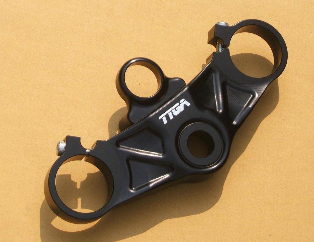 TYGA PERFORMANCE タイガパフォーマンス トップトリプルクランプ セット RS250 (アプリリア)
