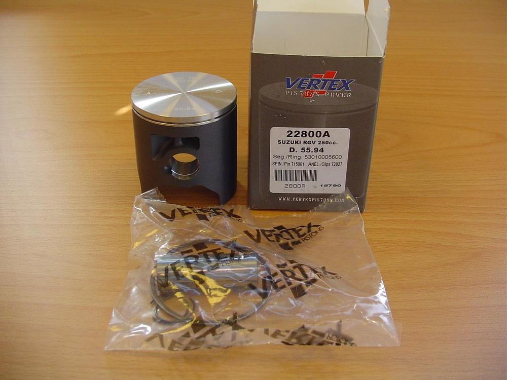 TYGA PERFORMANCE タイガパフォーマンス ピストン・ピストン周辺パーツ トップピストンキット SIZE:B=55.95mm RGV250 VJ21/22 RS-250