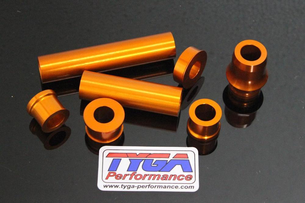 TYGA PERFORMANCE タイガパフォーマンス アルミ ホイールスペーサーキット RC125 RC200 RC250 RC390