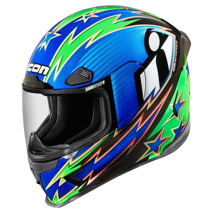 ICON アイコン フルフェイスヘルメット AIRFRAME PRO WARBIRD HELMET[エアーフレーム プロ ワーバード ヘルメット] サイズ:L(59-60cm)