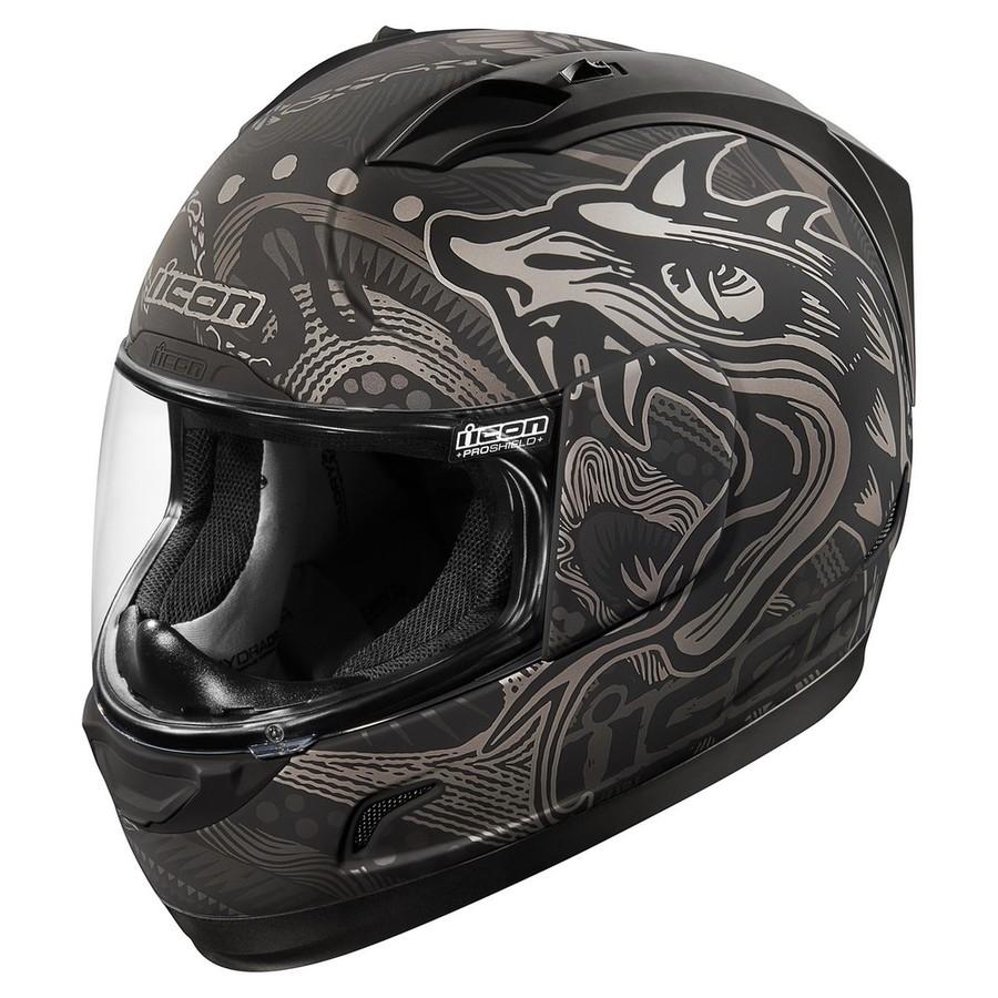 ICON アイコン フルフェイスヘルメット ALLIANCE OROBOROS HELMET[アライアンス オロボロス ヘルメット] サイズ:XS(53-54cm)