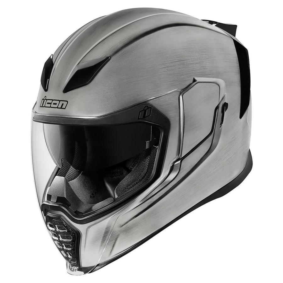 珍しい ICON アイコン フルフェイスヘルメット AIRFLITE QUICKSILVER アイコン AIRFLITE HELMET[エアフライト クイックシルバー ヘルメット] ヘルメット] サイズ:XL(61-62cm), パティエ:b9057f5a --- canoncity.azurewebsites.net