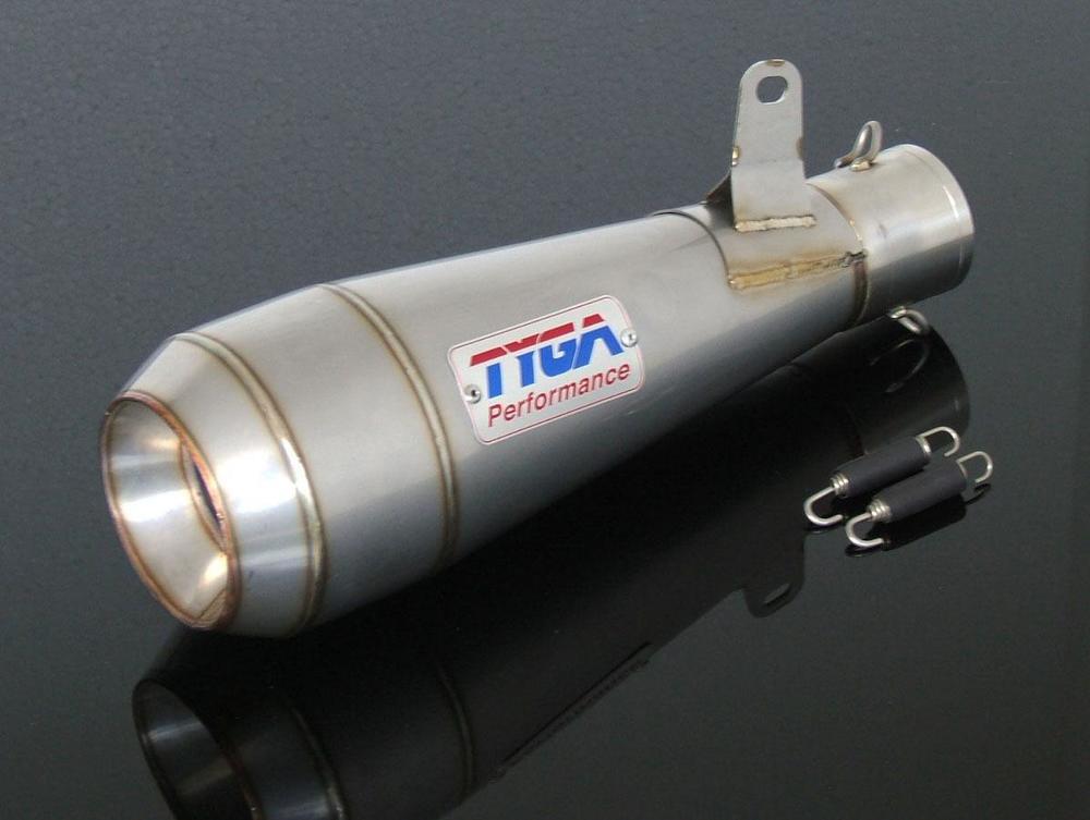 【送料無料】マフラー ER-6f ER-6n TYGA PERFORMANCE タイガパフォーマンス EXSL-2013  TYGA PERFORMANCE タイガパフォーマンス バッフル・消音装置 サイレンサーアッシー ステンレス MOTO MAGGOT ER-6f ER-6n