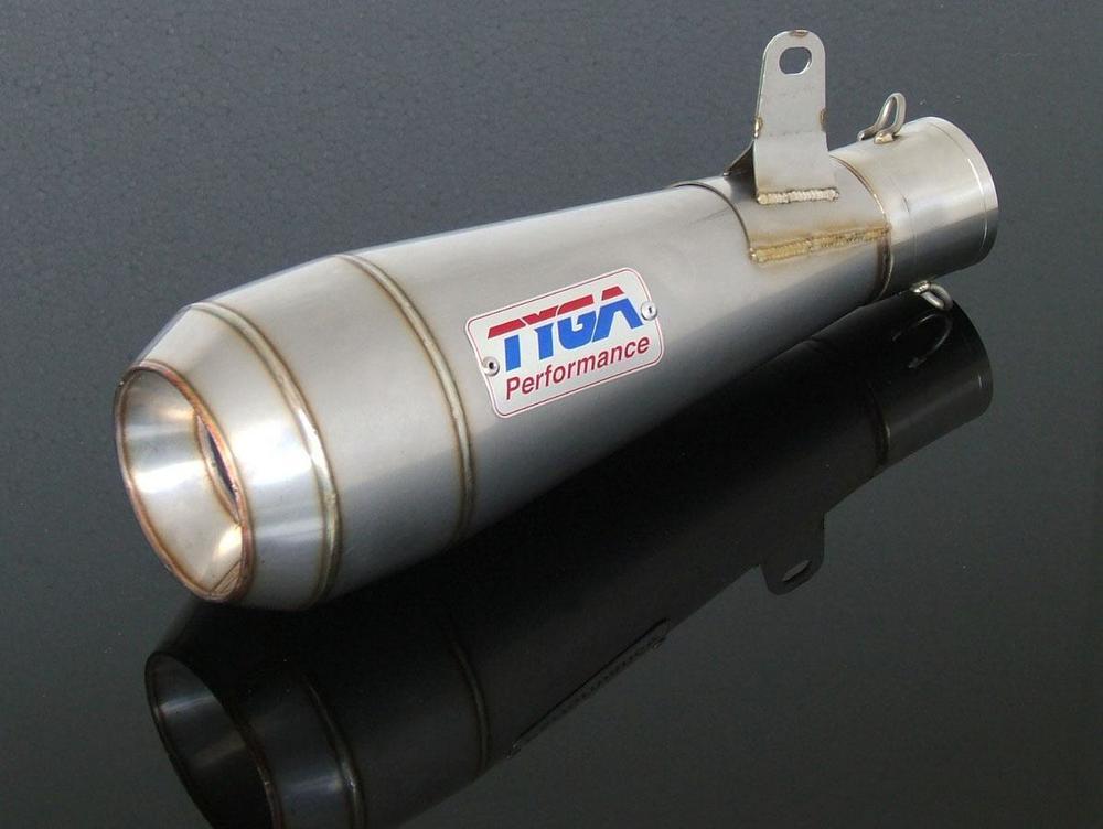 【送料無料】マフラー ER-6f ER-6n TYGA PERFORMANCE タイガパフォーマンス EXSL-2013(p)  TYGA PERFORMANCE タイガパフォーマンス バッフル・消音装置 サイレンサー ステンレス MOTO MAGGOT ER-6f ER-6n