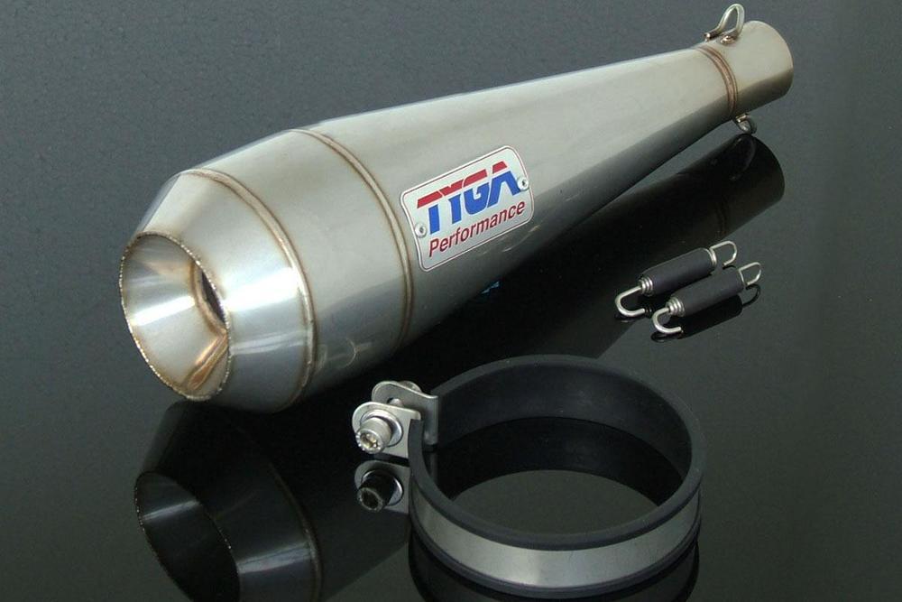 【送料無料】マフラー TYGA PERFORMANCE タイガパフォーマンス EXSL-7013  TYGA PERFORMANCE タイガパフォーマンス バッフル・消音装置 サイレンサーアッシー ステンレス MOTO MAGGOT