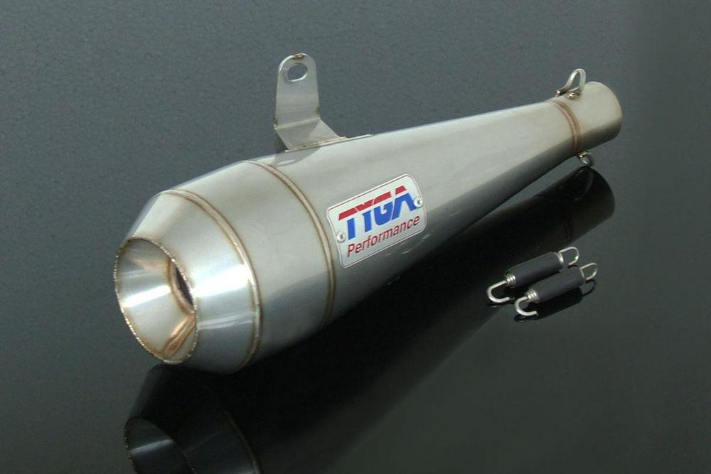 TYGA PERFORMANCE タイガパフォーマンス バッフル・消音装置 サイレンサーアッシー ステンレス MOTO MAGGOT MSX125 Grom、Ist/2nd Gen 2013-18