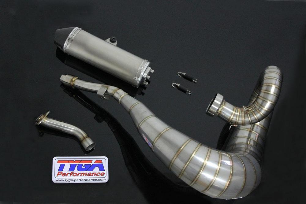 TYGA PERFORMANCE タイガパフォーマンス エキゾーストチャンバーセット YZ250