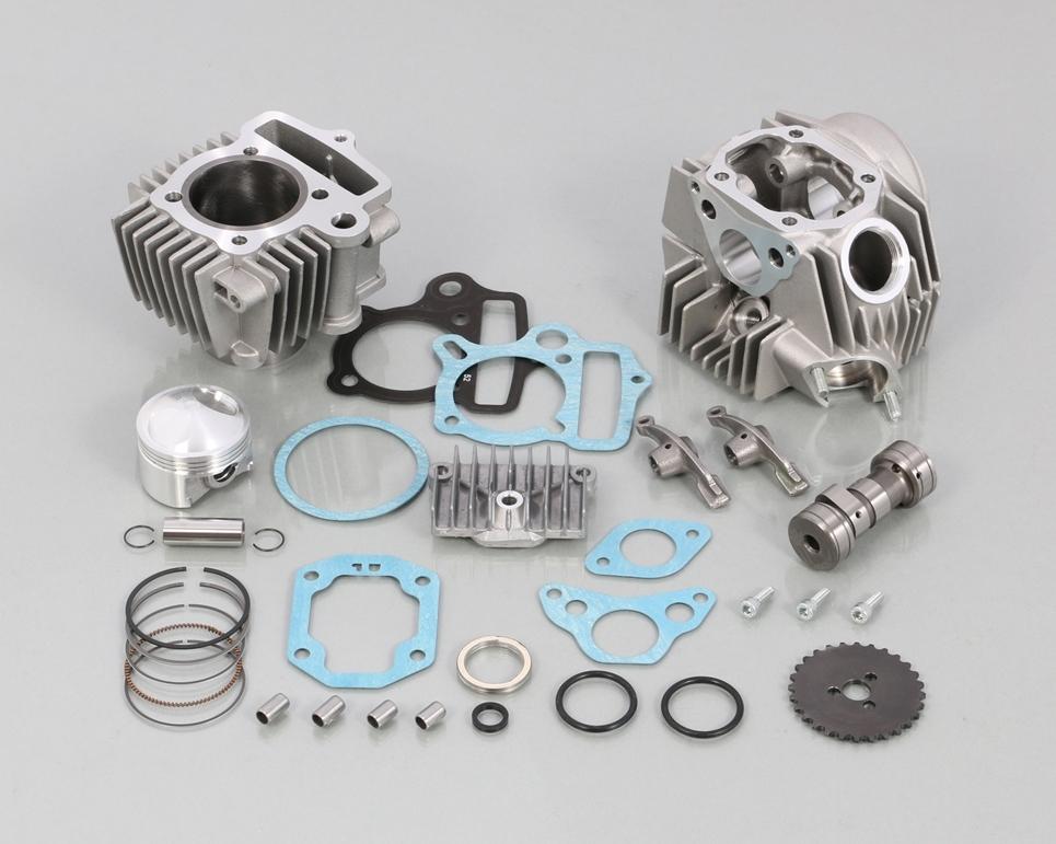 キタコ KITACO ボアアップキット・シリンダー 88cc スタンダード ボアアップ タイプ2 アルミシリンダー (鋳鉄スリーブ)