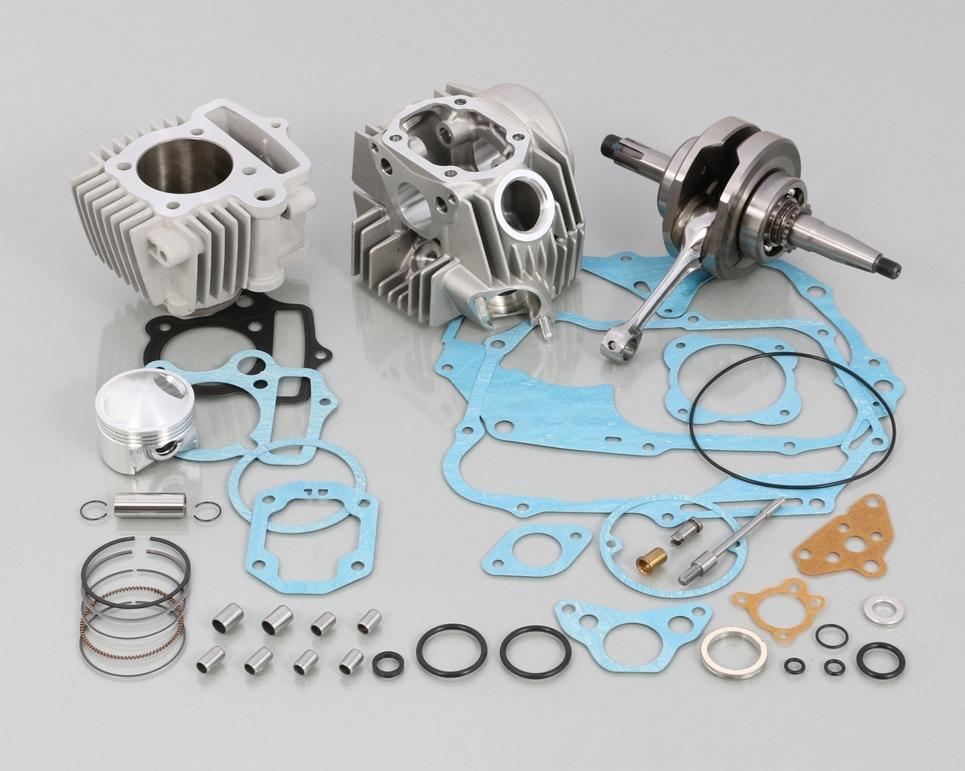 キタコ KITACO ボアアップキット・シリンダー 108cc スタンダード ボアアップ タイプ2 アルミシリンダー (硬質メッキ) ゴリラ シャリー50 ダックス モンキー