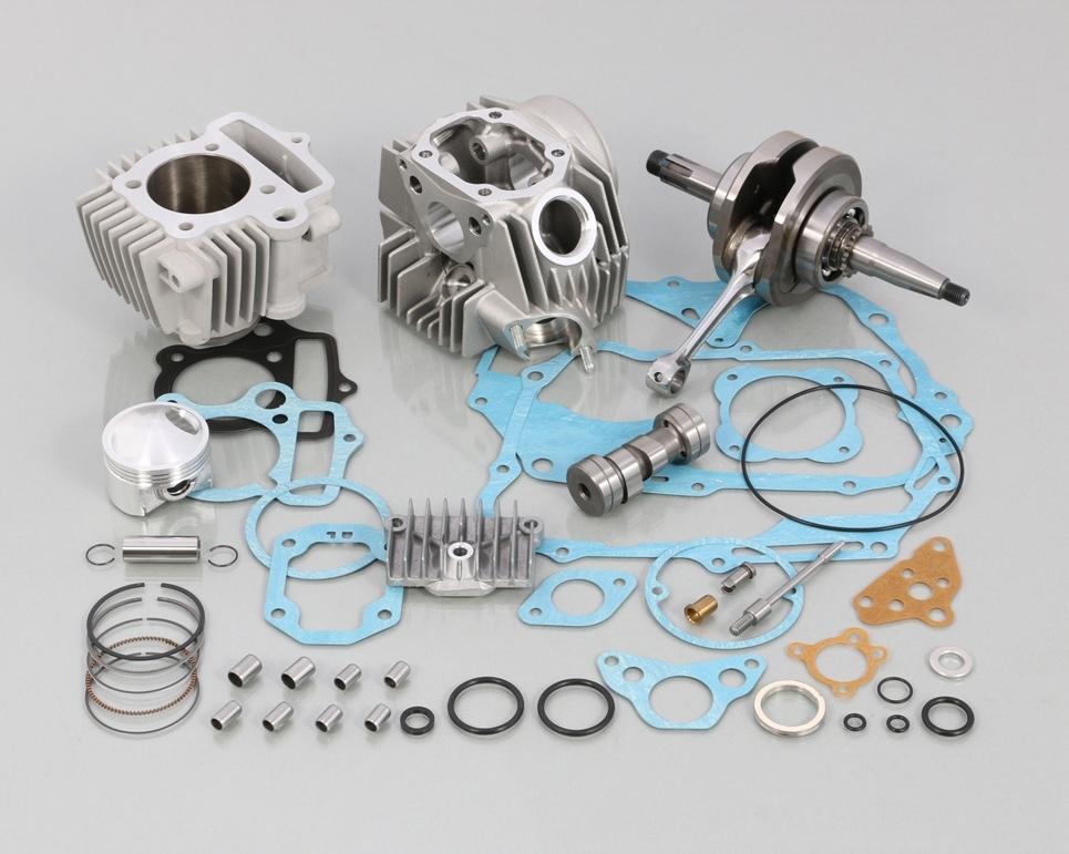 キタコ KITACO ボアアップキット・シリンダー 108cc スタンダード ボアアップ タイプ2 アルミシリンダー (硬質メッキ) ゴリラ モンキー
