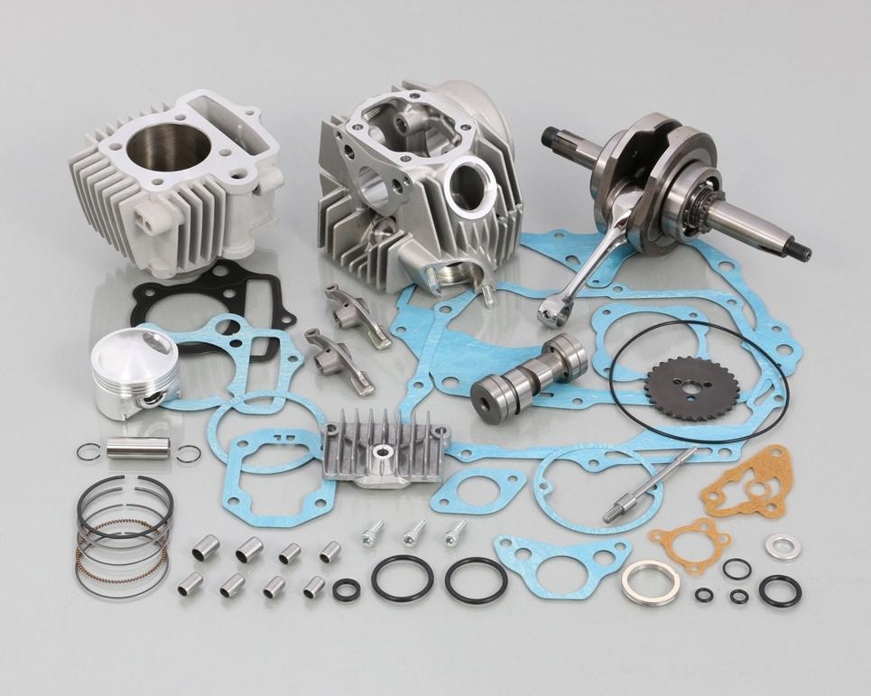 キタコ KITACO ボアアップキット・シリンダー 108cc スタンダード ボアアップ タイプ2 アルミシリンダー (硬質メッキ)