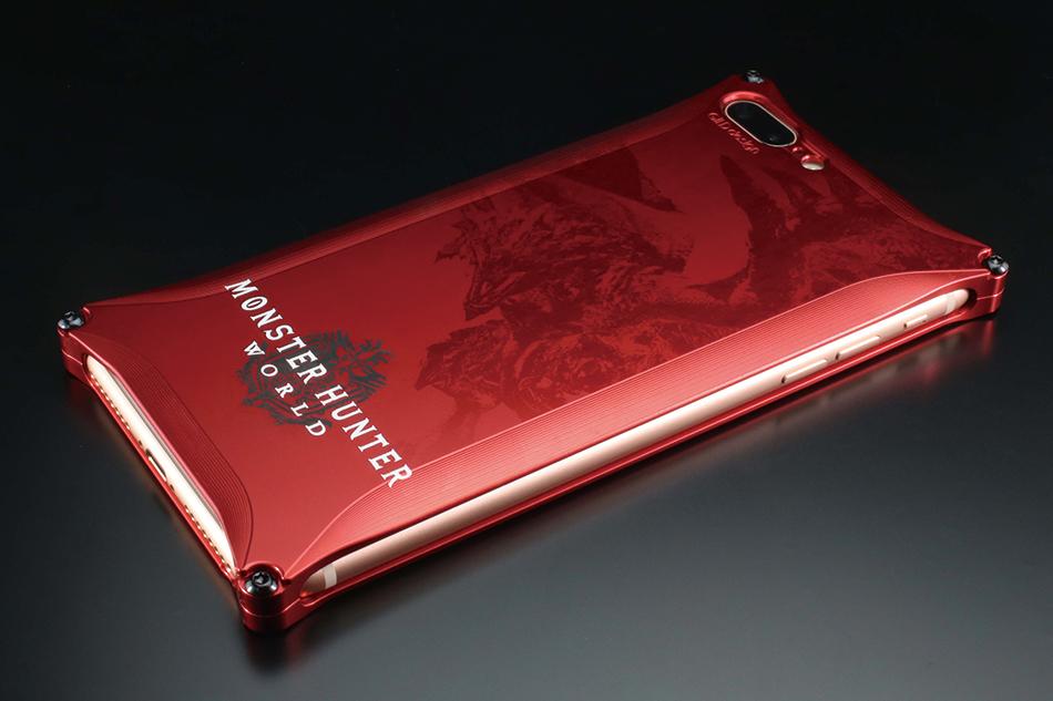 GILD design ギルドデザイン MONSTER HUNTER:WORLD Solid for iPhone8Plus/iPhone7Plus [モンスターハンター]