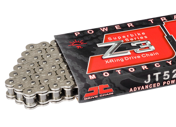 JT DRIVE CHAIN JTドライブチェーン チェーン Chain Kit 525 Type Z3 20/47 Standard【ヨーロッパ直輸入品】 F800R (800) 09-17