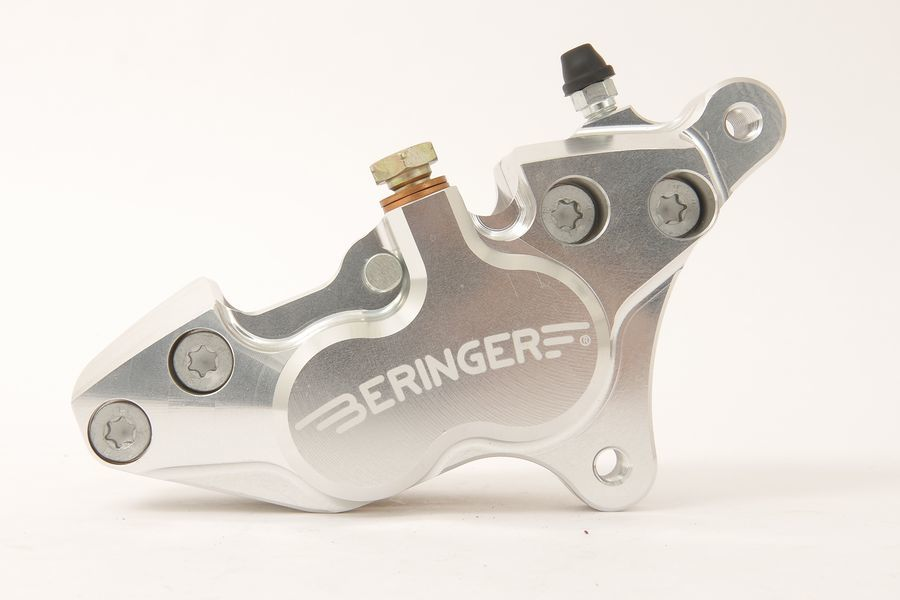 BERINGER ベルリンガー 4ピストンキャリパー カラー:シルバー RVF750 RC45 94-95 VFR750 R RC30 87