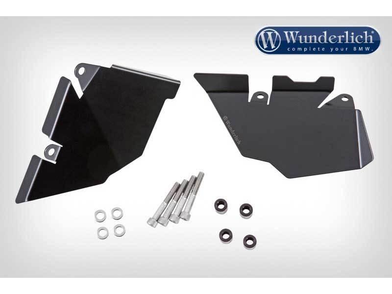 Wunderlich ワンダーリッヒ ガード・スライダー リアサイドスプラッシュガード カラー:ブラック R1200GS R1200GS Adventure