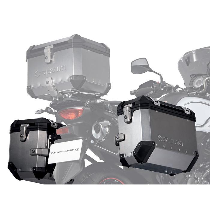 US SUZUKI 北米スズキ純正アクセサリー パニアケース・サイドボックス Side Case Set V-Strom 650: 2012 - 2016