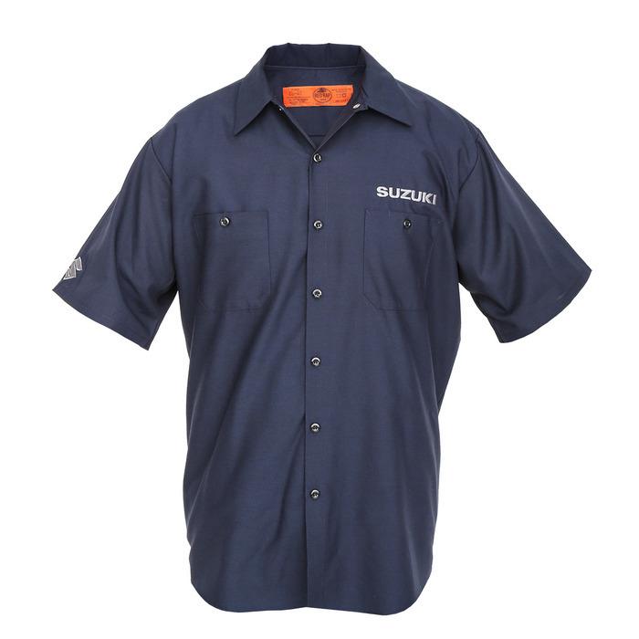 US SUZUKI 北米スズキ純正アクセサリー カジュアルウェア Mechanics Shirt サイズ:SML