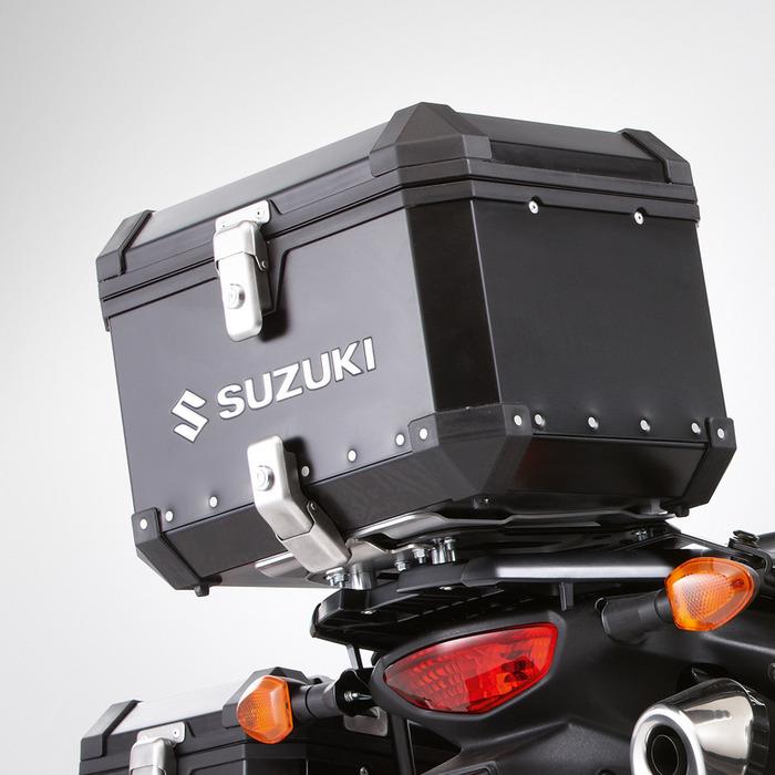 US SUZUKI 北米スズキ純正アクセサリー トップケース・テールボックス Top Case V-Strom 650: 2012 - 2016