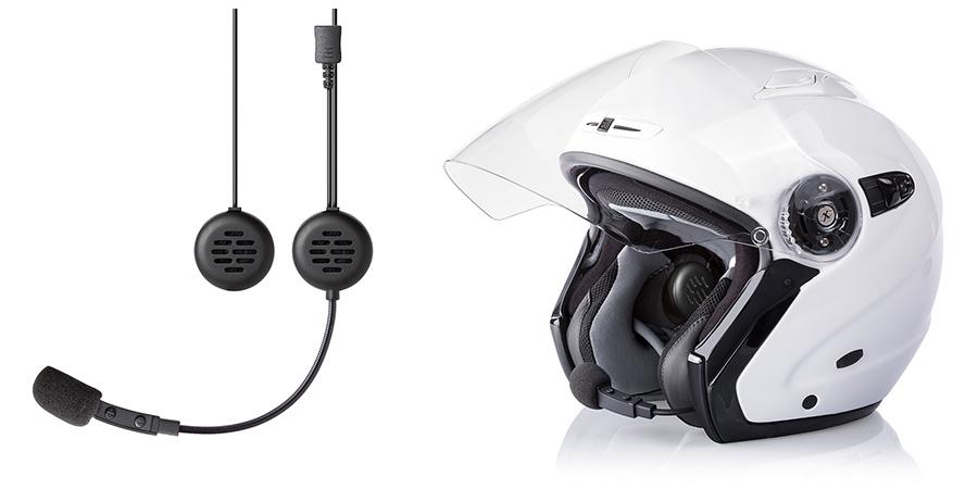 【在庫あり】【イベント開催中!】 MIDLAND ミッドランド 通信機器 BT GO JET ジェットヘルメット対応インカム