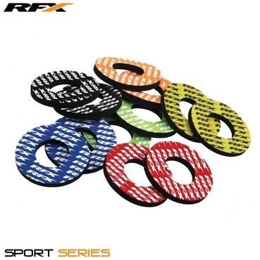 ハンドル RaceFX レースエフエックス FXHG 90000 00BU  【イベント開催中!】 RaceFX レースエフエックス その他ハンドルパーツ Sport Grip Donuts Pair Color:Blue