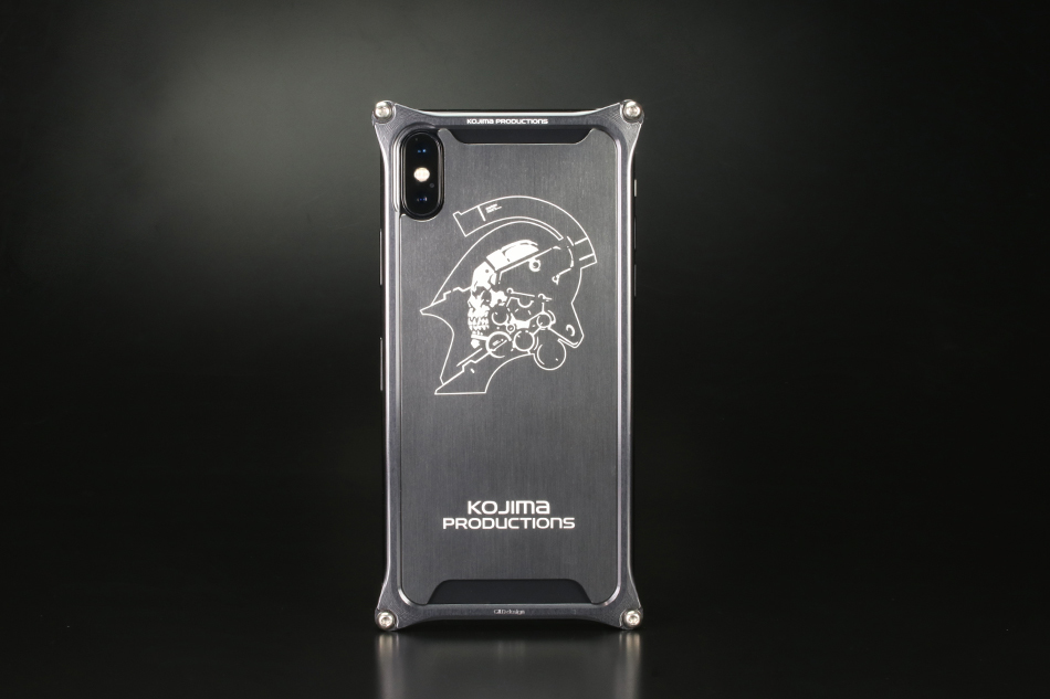 GILD design ギルドデザイン スマートフォンケース Kojima Productions Logo Ver. for iPhone X