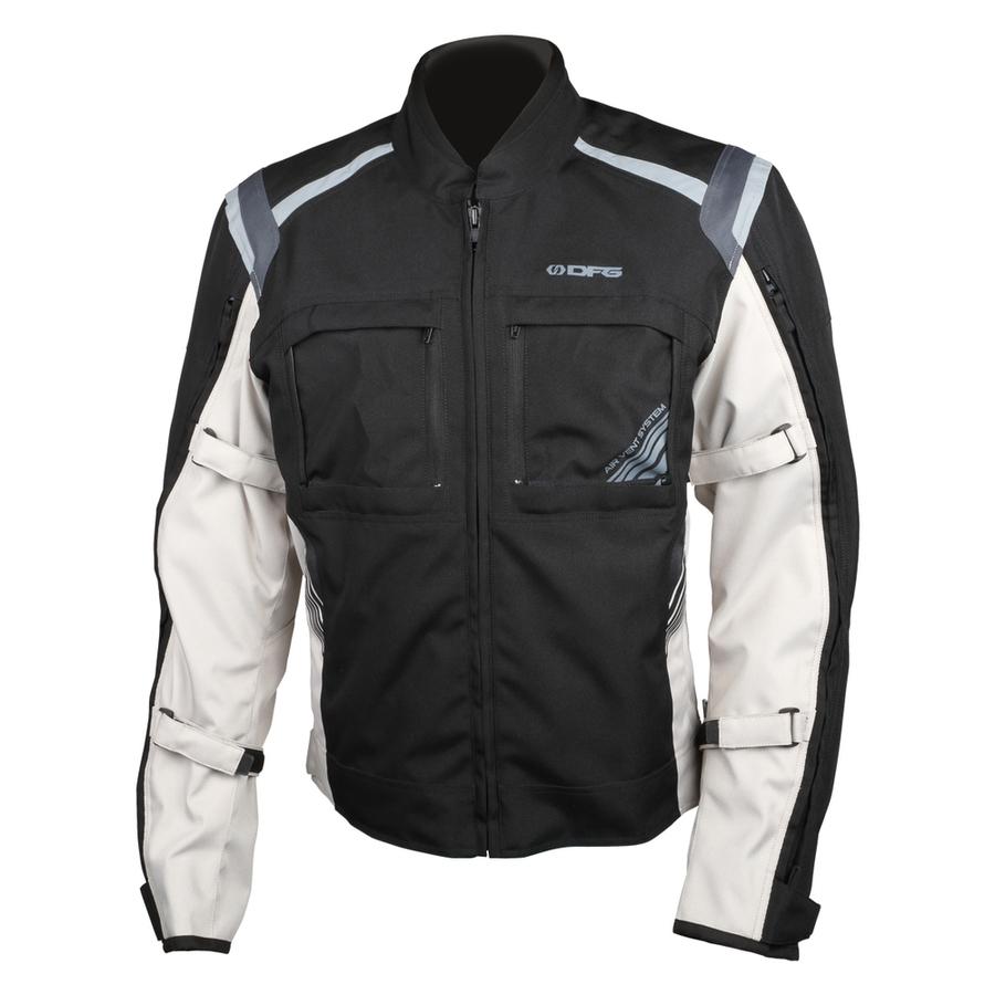 DFG ディーエフジー ライディングジャケット ナビゲーター クールジャケット サイズ:XL