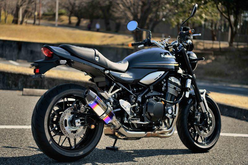 BEAMS ビームス CORSA-EVO II スリップオンマフラー Z900RS