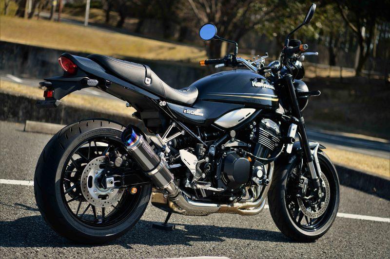 BEAMS ビームス R-EVO2 スリップオンマフラー サイレンサータイプ:カーボン Z900RS